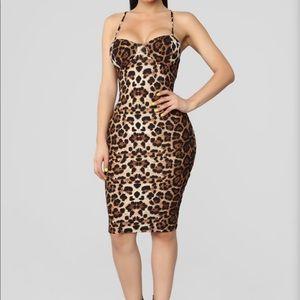 Into the jungle leopard dress